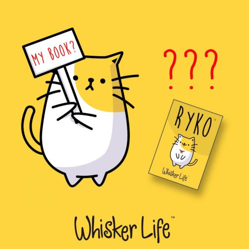Ryko from Whisker Life and Book